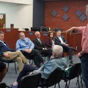 Salton Sea workshop meeting people