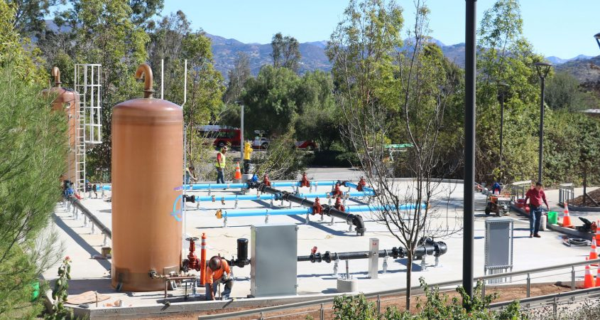 The new skills lab for the Cuyamaca College Wastewater Studies program. Photo: Courtesy GCCCD