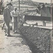 On January 10, 1957, the Water Authority's Board of Directors approved construction of the Second San Diego Aqueduct.