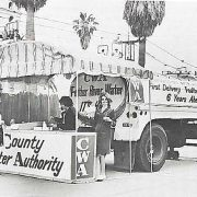 Early outreach project at the Del Mar Fair in summer 1965, promoting 'pure Northern California water.'