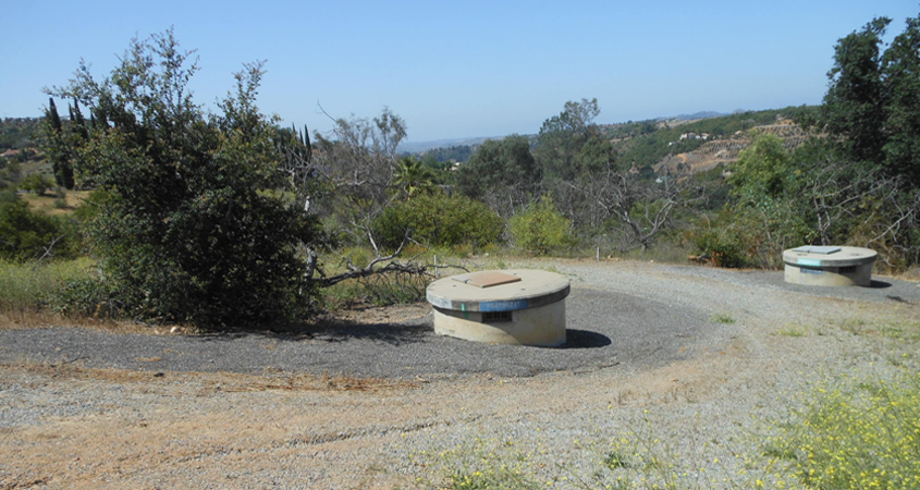 The $24 million Pipeline 5 Relining Project in Fallbrook is expected to conclude in summer 2019. Photo: San Diego County Water Authority