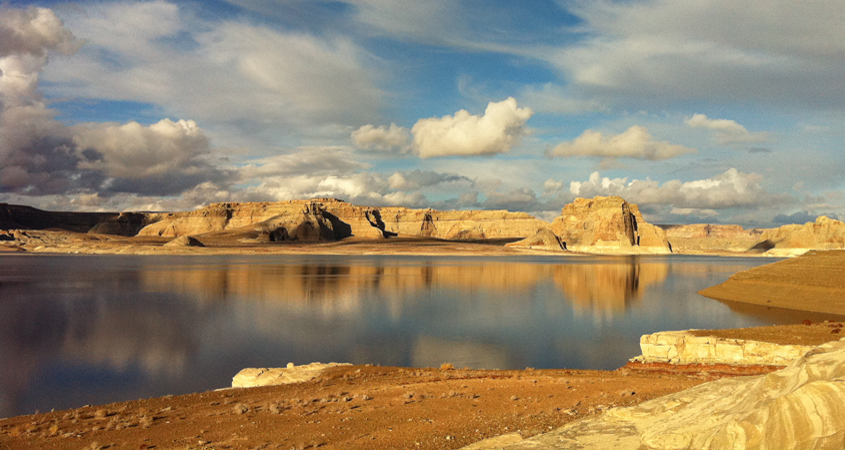 Lake Mead and Lake Powell – which provide storage for the Lower Basin states of Nevada, Arizona and California – are about 51 percent full. Photo: SDCWA Drought Talks