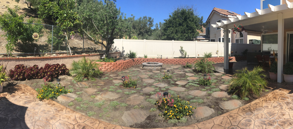 The Otay Water District's WaterSmart Landscaping Content winner for 2018 is Rosalba Ponce of Chula Vista. Photo: Otay Water District Landscape Makeover Program