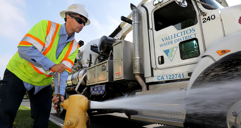 Development of the next generation of skilled water workforce professionals is vital to the health of the nation's infrastructure. Photo: Water Authority reliable water supply