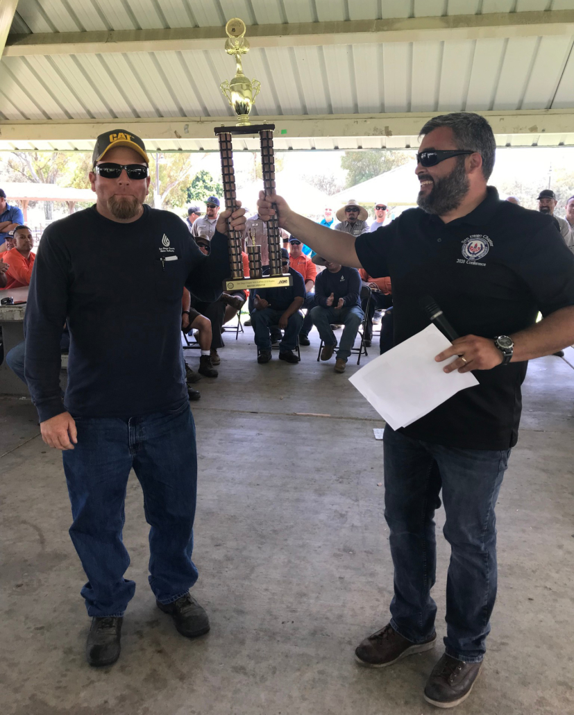 "Bobby Bond Jr. of the San Diego County Water Authority wins the title of ""Master Operator"" at the MSA San Diego/APWA 2018 Skills Competition. Photo: Courtesy MSA San DIego"