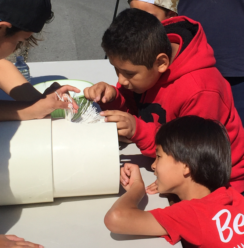 Interactive displays will interest kids of all ages at the East County Water Festival on Sept. 8. Photo: Courtesy Padre Dam MWD