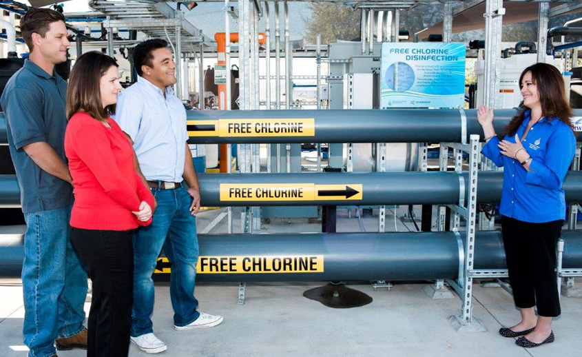 Visitors to the East County Water Festival on Sept. 8 can t, tour the East County Advanced Water Purification Demonstration Facility. Photo: Courtesy Padre Dam MWD