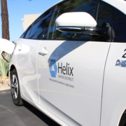 The Helix Water District received rebates of $5,500 from the State of California on each of the six Priuses purchased over the last two years. They average over 75 miles per gallon and the district expects to save an additional $1,000 per vehicle per year in avoided fuel costs. Photo: Courtesy Helix Water District