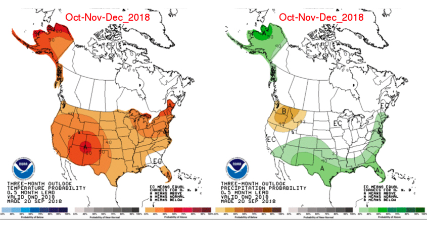 Water Supplies Sufficient For 2019 Demands Despite Hot Dry Weather - Rainfall-map-us