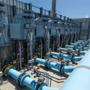 """The Claude """"Bud"""" Lewis Carlsbad Desalination Plant, the nation's largest seawater desalination plant. Photo: Water Authority water issues"""
