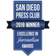 The San Diego County Water Authority won two first place awards and a second place award for its communication efforts from the San Diego Press Club.