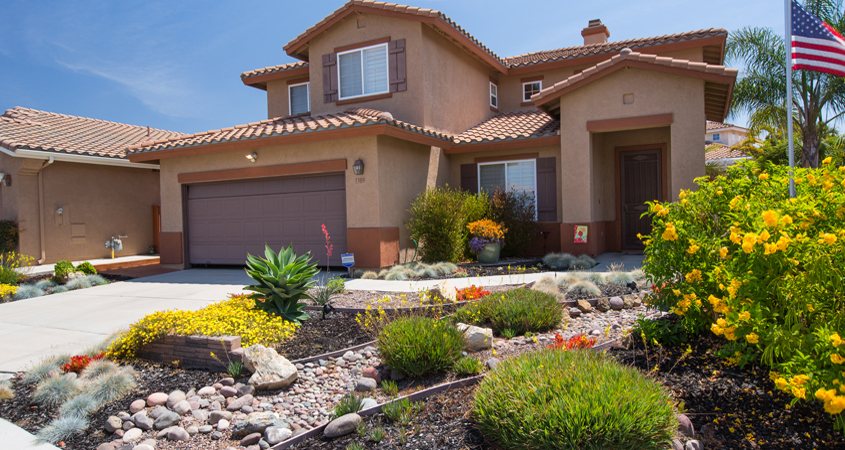Use a variety of contouring methods in your sustainable landscape design. Photo: Water Authority
