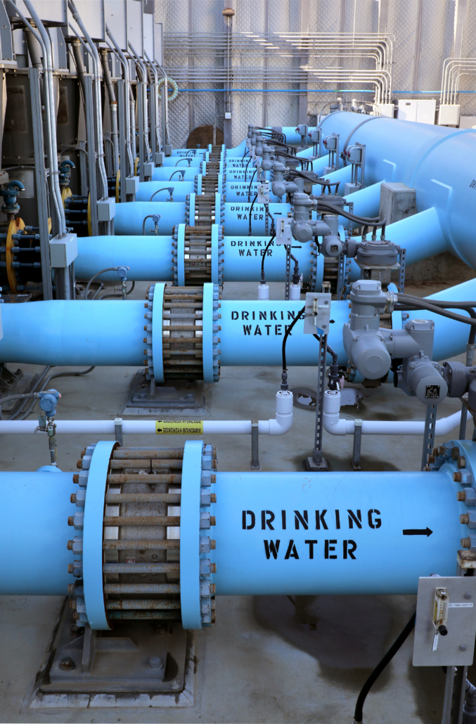 The Carlsbad Desalination Plant has delivered 40 billion gallons of fresh, clean drinking water during its three years of operation. Photo: Water Authority