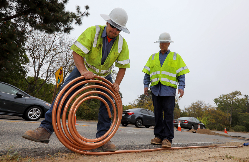At the Fallbrook Public Utility District approximately 40 percent of the agency's 68 employees will be eligible to retire within five years. Seventeen percent are currently eligible for retirement. Photo: Fallbrook PUD