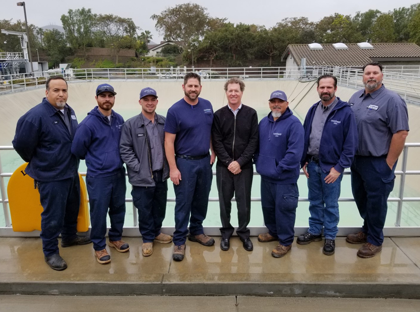 Water and wastewater professionals like the Olivenhain Municipal Water District 4S Ranch Wastewater Treatment plant employees are moving toward retirement with not enough replacements available. Photo: Olivenhain Municipal Water District