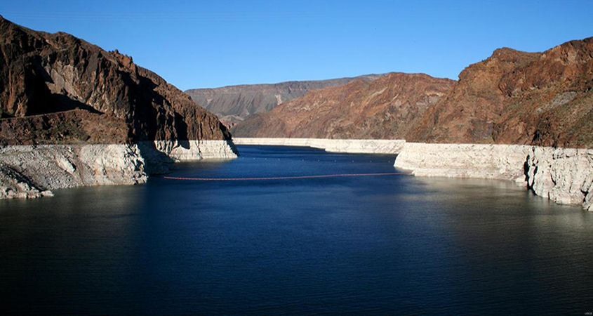 Water levels in Lake Mead have been declining due to a long-term drought in the Colorado River Basin. Photo: National Park Service