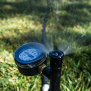 The best type of irrigation system for your landscape can depend on many factors, including the size and shape of your landscape and types of plants you have. Photo: California Department of Water Resources