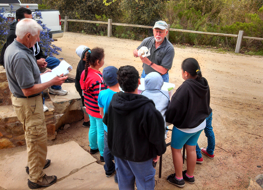 The new Escondido Creek Eichen Education Fund will continue the joint education programs held at the Elfin Forest's interpretive center in perpetuity. Photo: Olivenhain Municipal Water District
