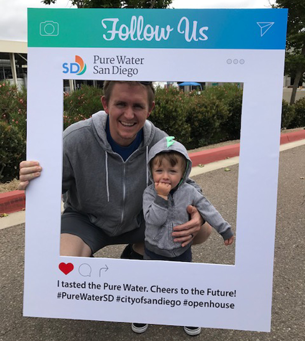 Attendees enjoyed a variety of family-friendly activities at the third annual Pure Water Day. Photo: City of San Diego