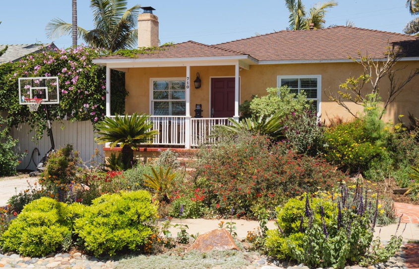 Homeowner Kim Wascher was motivated to save money on her water bill when she transformed her landscaping. Photo: City of Oceanside
