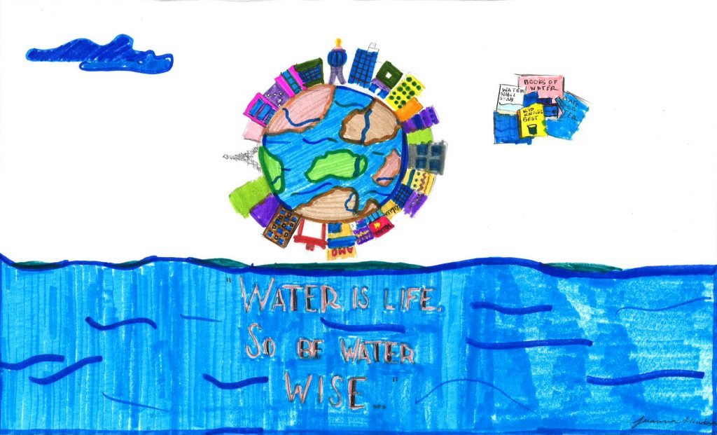 jeeanna Mendoza, Grade 3, Camarena Elementary School (first place; K-3)