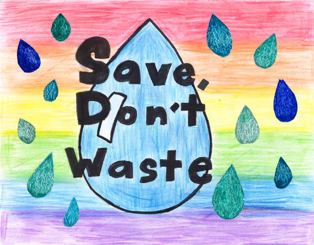 Maya Santana, Grade 5, Wolf Canyon Elementary School (first place; 4-6). Photo: Otay Water District
