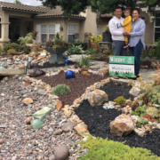 The Nieves family of Bonita won the Sweetwater Authority's 2019 Landscape Makeover Contest for theier creative WaterSmart landscaping design. Photo: Sweetwater Authority 2021 Landscape Makeover