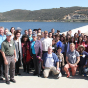 The Fall 2015 Citizens Water Academy tours the Olivenhain Reservoir. Photo: Water Authority Citizens Water Academy Applications