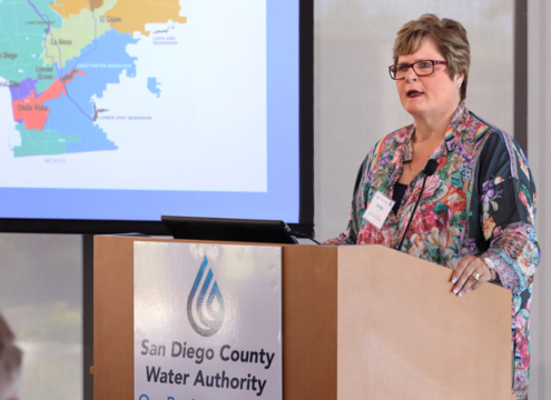 Sandra L. Kerl is new General Manager of the San Diego County Water Authority