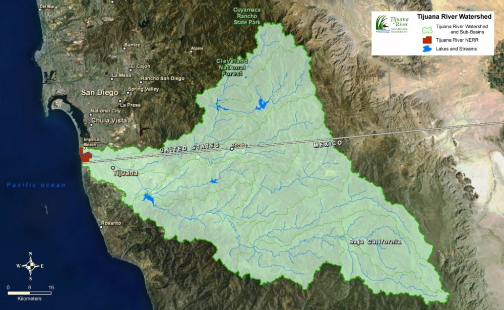 Tijuana River Watershed - RE:BORDER 2019 - San Diego