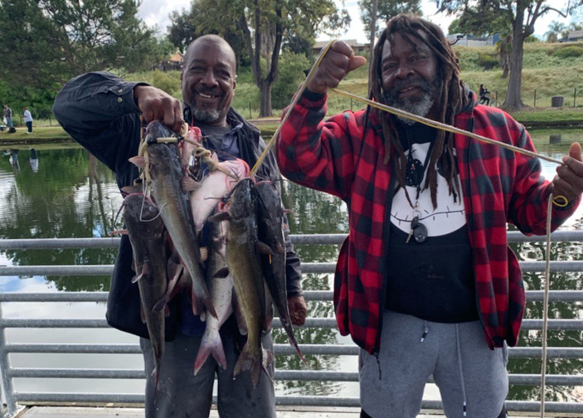 The catfish have been biting big this season at Santee Lakes. Photo: Courtesy Santee Lakes/Padre MWD