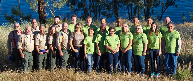 Lake Jennings staff and volunteers