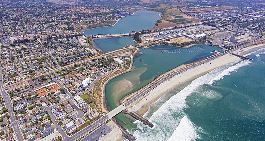 """The Claude """"Bud"""" Lewis Carlsbad Desalination Plant. Photo: Water Authority"""