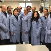 Laboratory Superintendent Nicki Branch (far left) and employees of the Escondido Water Quality Lab, one of only two certified labs in California under new standards. Photo: City of Escondido