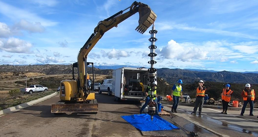 The 12-inch SeeSnake inspection tool used by the Vallecitos Water District is designed to provide accurate pipeline assessments. Photo: Vallecitos Water District