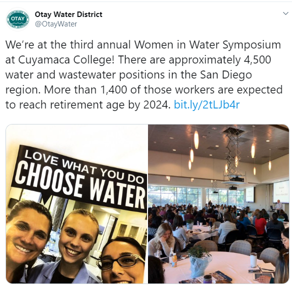 2020 Women in Water - Otay Water District