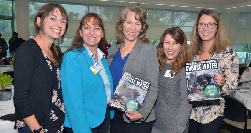 The Women in Water Syposium's goal in its third year is to create a community of people with the interest and aptitude to take on what were previously considered non-traditional careers. Photo: Cuyamaca College