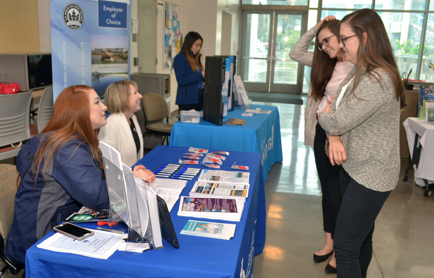 Water and wastewater industry employers including the Water Authority will participate in the Women in Water Symposium at Cuyamaca College on January 16. Photo: Cuyamaca College