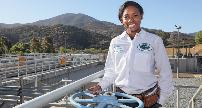 2020 Women in Water - San Diego County Water Authority - Tyrese Powell-Slotterbeck