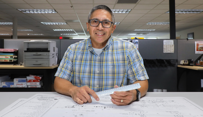 Bernardo Separa represents thousands of essential employees in public works being recognized during National Public Works Week. Photo: Otay Water District