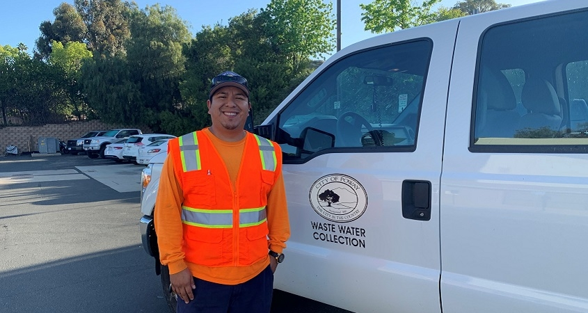 Water Utility Hero of the Week-Ivan Martinez-City of Poway