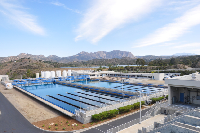 Helix Water District's R.M Levy Water Treatment Plant