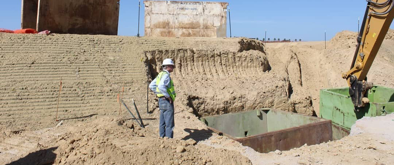 Pre-construction activities are currently underway as part of Phase 1 of the Pure Water San Diego Program. Photo: City of San Diego