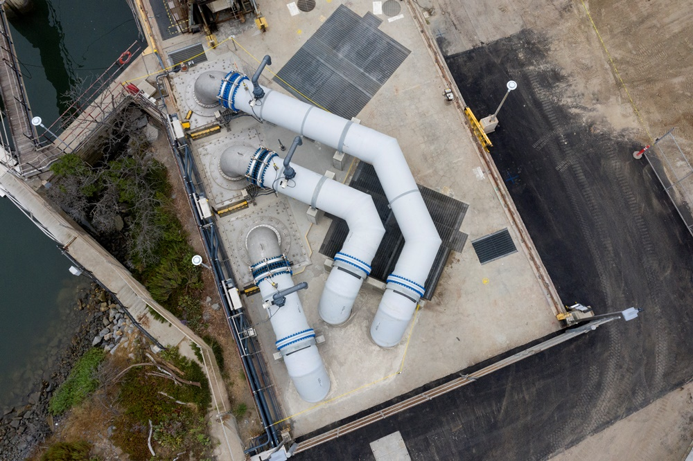 New seawater intake pumps-Carlsbad Desalination Plant-Fish Friendly