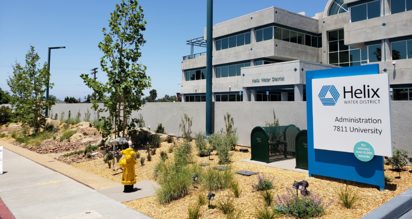 demonstration garden, WaterSmart, Helix Water District