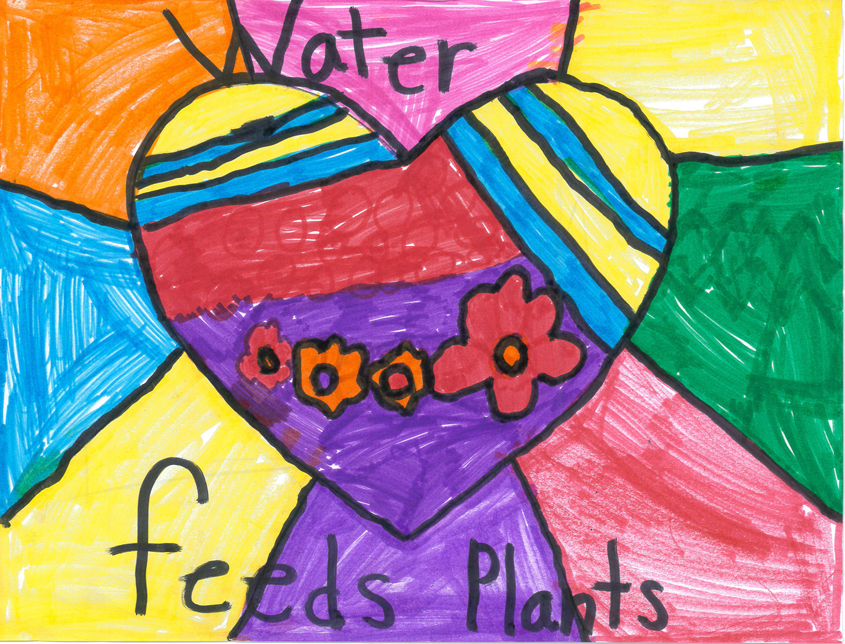 Hailey Ramirez – First Grade, Pepper Drive Elementary School, El Cajon Water Is Life