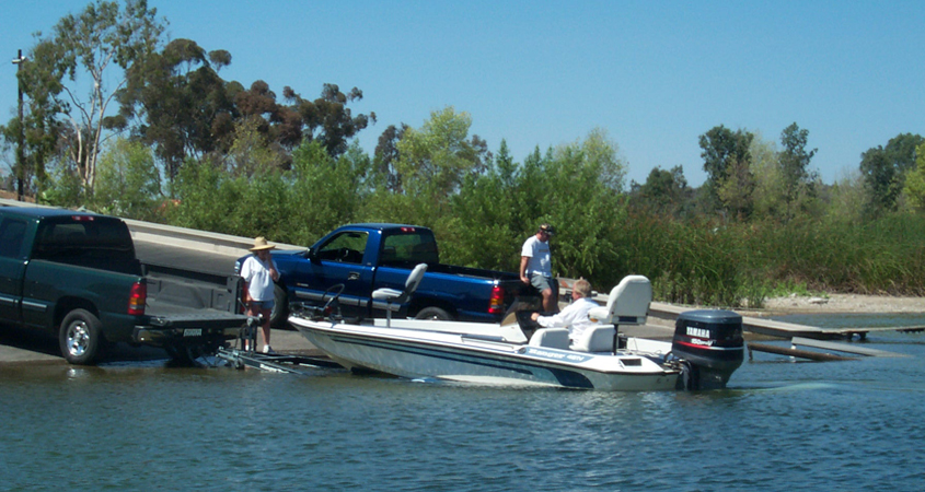 Available activities include walking, jogging, cycling, fishing and boating. Normal fishing and boating fees will apply. Photo: City of San Diego