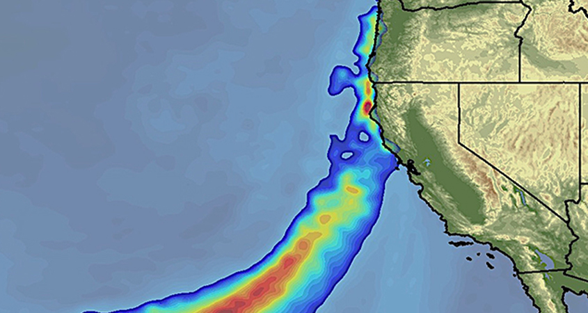Atmospheric river storms cause 40% to 60% of annual precipitation and most of the flood damage on the West Coast. Graphic: Scripps Institution of Oceanography