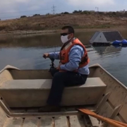 Meadowlark Water Reclamation Facility employee Ivan Murguia monitors water quality. Photo: Vallecitos Water District