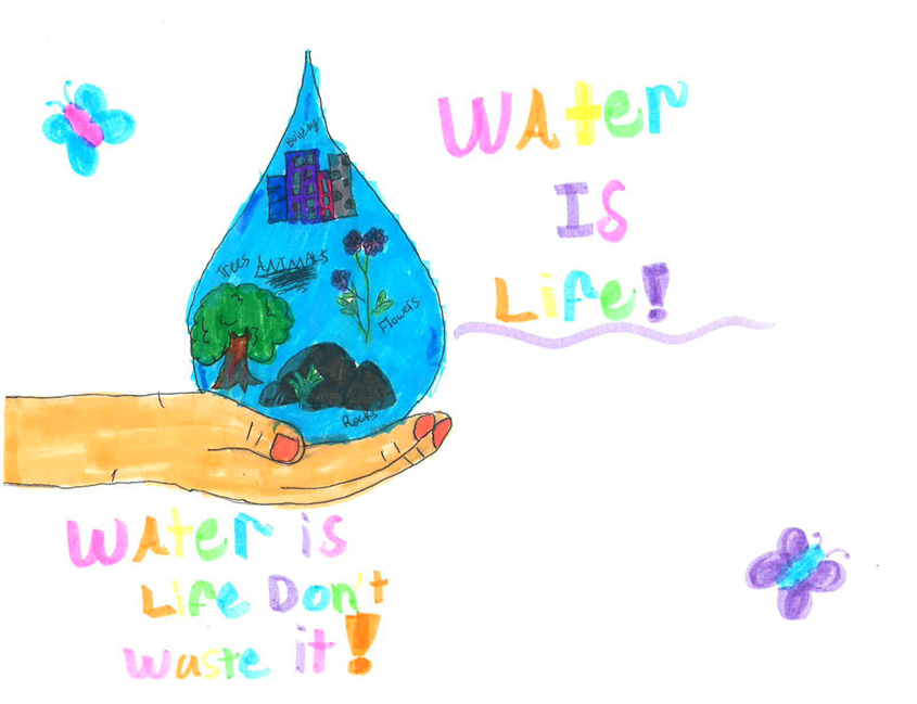 First place: Zahraa Alzayadi, Fifth grade, Jamacha Elementary School
